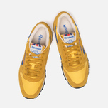 Мужские кроссовки Reebok Classic Leather Vintage Inspired Khaki/Lemon/Blue фото- 4