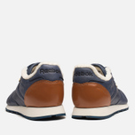 Мужские кроссовки Reebok Classic Leather Winter Navy/Brown фото- 4