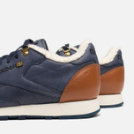 Мужские кроссовки Reebok Classic Leather Winter Navy/Brown фото- 6
