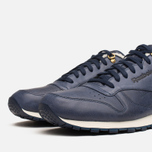 Мужские кроссовки Reebok Classic Leather Winter Navy/Brown фото- 5