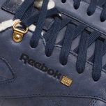 Мужские кроссовки Reebok Classic Leather Winter Navy/Brown фото- 7