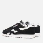 Мужские кроссовки Reebok Classic Nylon Black/White фото- 2