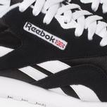 Мужские кроссовки Reebok Classic Nylon Black/White фото- 7