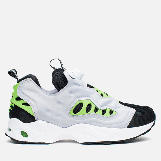Мужские кроссовки Reebok Instapump Fury Road Black/Grey/Green
