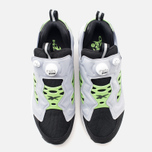 Мужские кроссовки Reebok Instapump Fury Road Black/Grey/Green фото- 4