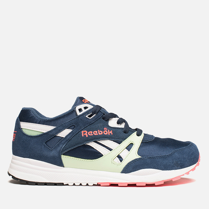 Мужские кроссовки Reebok Ventilator Navy/Sea Glass/Pink/White