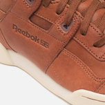 Reebok Workout Plus Horween Sneakers Cognac/Moon photo- 7