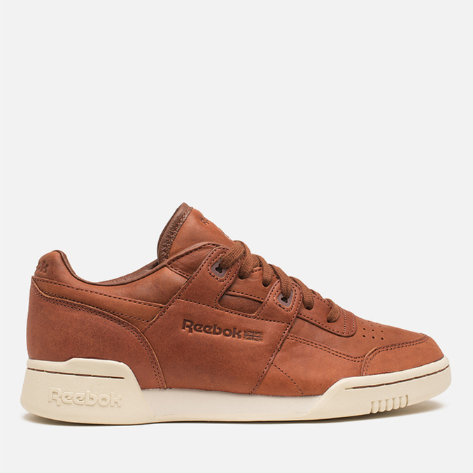 Мужские кроссовки Reebok Reebok Workout Plus Horween Sneakers Cognac/Moon