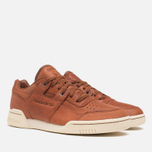 Мужские кроссовки Reebok Reebok Workout Plus Horween Sneakers Cognac/Moon фото- 1