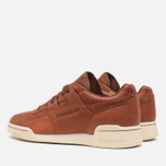 Мужские кроссовки Reebok Reebok Workout Plus Horween Sneakers Cognac/Moon фото- 2