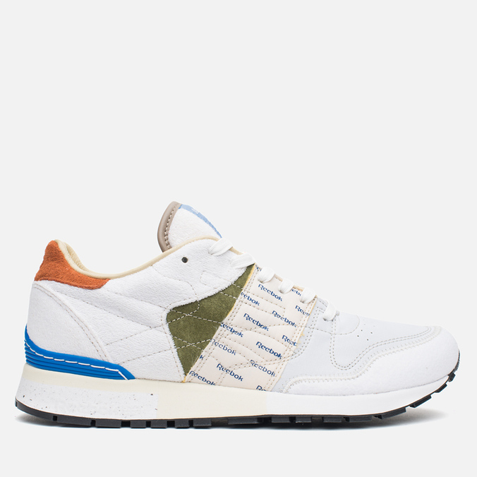 Мужские кроссовки Reebok x Garbstore Classic Leather 6000 White/Green/Blue