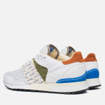 Мужские кроссовки Reebok x Garbstore Classic Leather 6000 White/Green/Blue фото- 2