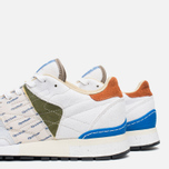 Мужские кроссовки Reebok x Garbstore Classic Leather 6000 White/Green/Blue фото- 7
