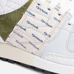 Мужские кроссовки Reebok x Garbstore Classic Leather 6000 White/Green/Blue фото- 5