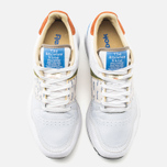 Мужские кроссовки Reebok x Garbstore Classic Leather 6000 White/Green/Blue фото- 4