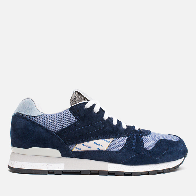 Мужские кроссовки Reebok x Garbstore Phase II Navy/Purple/Blue