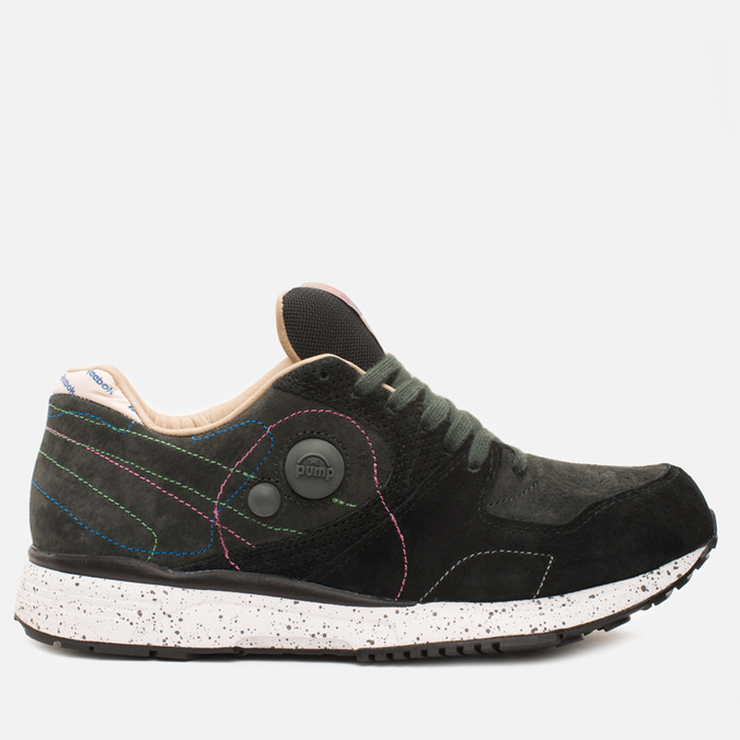 Мужские кроссовки Reebok x Garbstore Pump Running Dual 2.0 Black