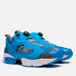 Мужские кроссовки Reebok x Stash Instapump Fury Blue/Grey/Steel фото- 1