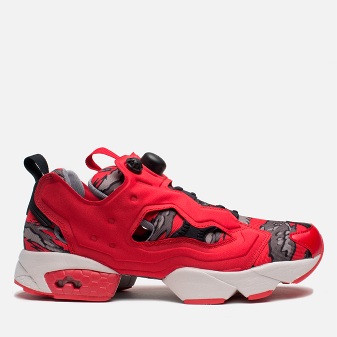Мужские кроссовки Reebok x Stash Instapump Fury Red/Grey/Steel