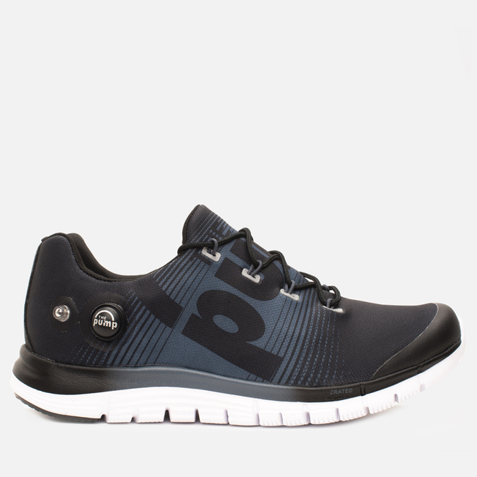 Мужские кроссовки Reebok ZPump Fusion Black/Graphite