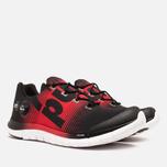 Мужские кроссовки Reebok ZPump Fusion Black/Red Rush/White фото- 1