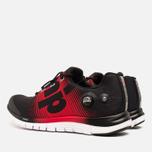 Мужские кроссовки Reebok ZPump Fusion Black/Red Rush/White фото- 2