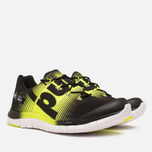 Мужские кроссовки Reebok ZPump Fusion Black/Solar Yellow/White фото- 1