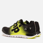 Мужские кроссовки Reebok ZPump Fusion Black/Solar Yellow/White фото- 2