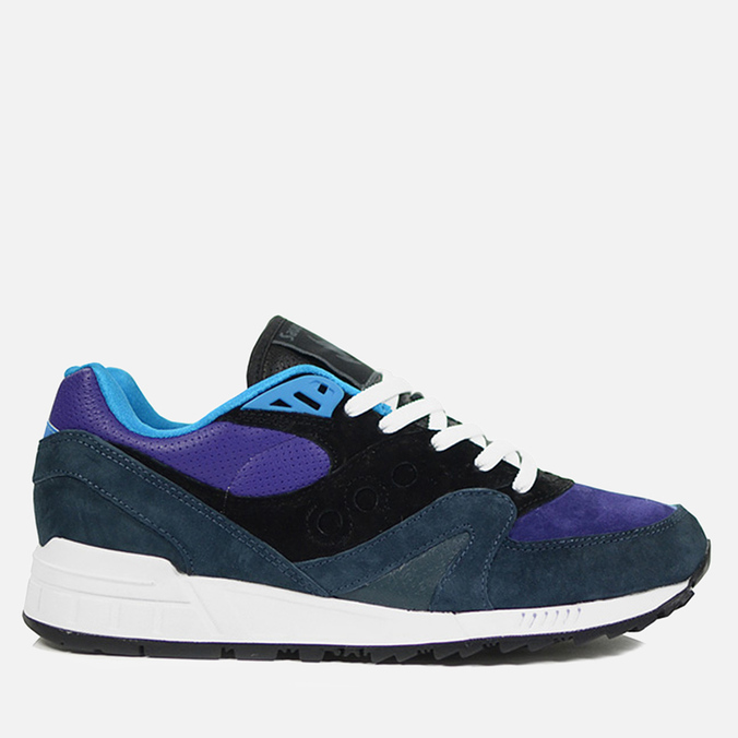 Кроссовки Saucony X Hanon Shadow Master The Midnight Runner Black/Purple