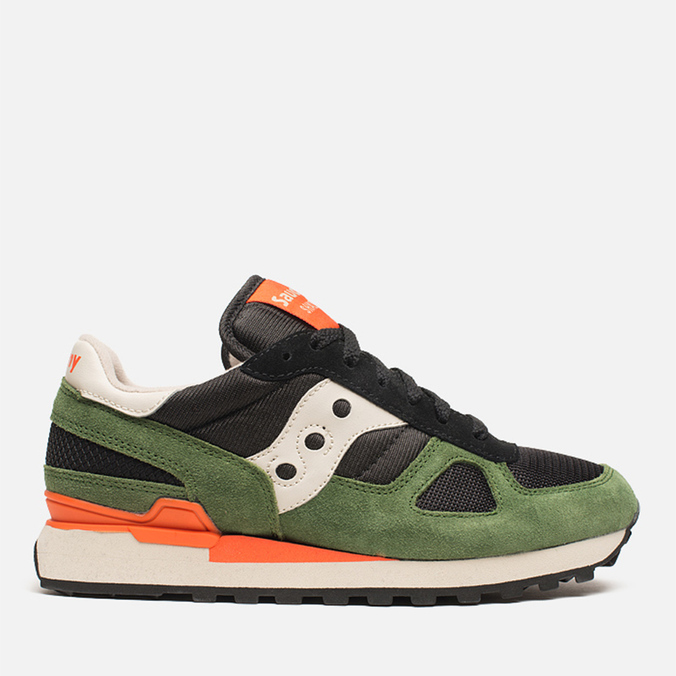 Мужские кроссовки Saucony Shadow Original Black/Green