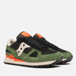Мужские кроссовки Saucony Shadow Original Black/Green фото- 1