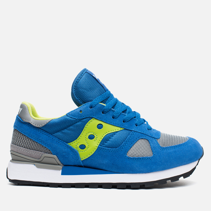 Saucony Shadow Original Men's Sneakers Blue/Bright Green