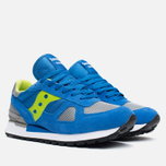 Saucony Shadow Original Men's Sneakers Blue/Bright Green photo- 1