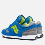 Saucony Shadow Original Men's Sneakers Blue/Bright Green photo- 2