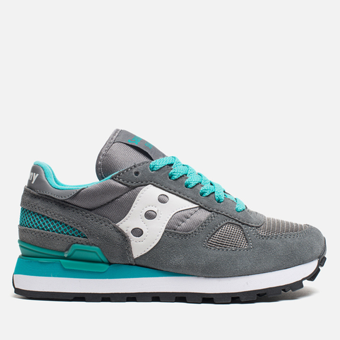 Женские кроссовки Saucony Shadow Original Dark Grey/Green/White