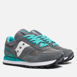 Женские кроссовки Saucony Shadow Original Dark Grey/Green/White фото- 1
