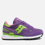 Мужские кроссовки Saucony Shadow Original Purple/Green фото- 0