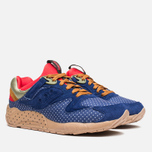 Saucony x Bodega Polka Dot Grid 9000 Sneakers Blue/Tan  photo- 1