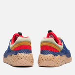 Saucony x Bodega Polka Dot Grid 9000 Sneakers Blue/Tan  photo- 3