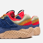 Saucony x Bodega Polka Dot Grid 9000 Sneakers Blue/Tan  photo- 6