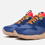 Saucony x Bodega Polka Dot Grid 9000 Sneakers Blue/Tan  photo- 5