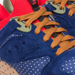 Saucony x Bodega Polka Dot Grid 9000 Sneakers Blue/Tan  photo- 7