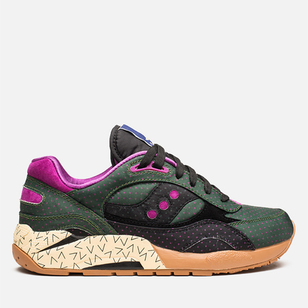 Мужские кроссовки Saucony x Bodega Polka Dot G9 Shadow 6 Green/Black