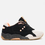 Кроссовки Saucony x Feature G9 Shadow 6 High Roller Sneakers Black/Pink фото- 0