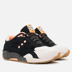 Кроссовки Saucony x Feature G9 Shadow 6 High Roller Sneakers Black/Pink