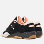 Кроссовки Saucony x Feature G9 Shadow 6 High Roller Sneakers Black/Pink фото- 2