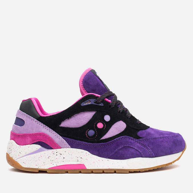 Кроссовки Saucony x Feature G9 Shadow 6 The Barney Purple/Black