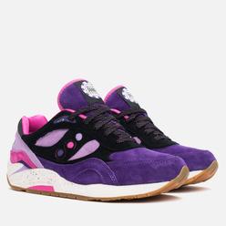 Кроссовки Saucony x Feature G9 Shadow 6 The Barney Purple/Black