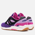 Кроссовки Saucony x Feature G9 Shadow 6 The Barney Purple/Black фото- 2