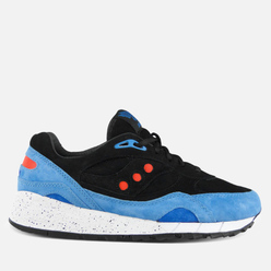 Кроссовки Saucony x Footpatrol Shadow 6000 Only In Soho Black/Blue